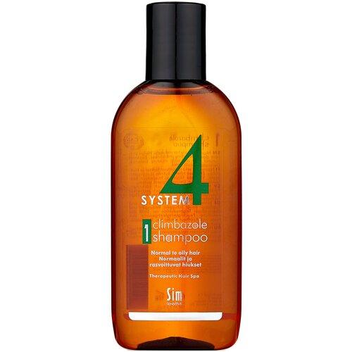 Купить Sim Sensitive SYSTEM 4 Climbazole Shampoo 1 Терапевтический шампунь № 1 для нормальной и жирной кожи головы, 100 мл