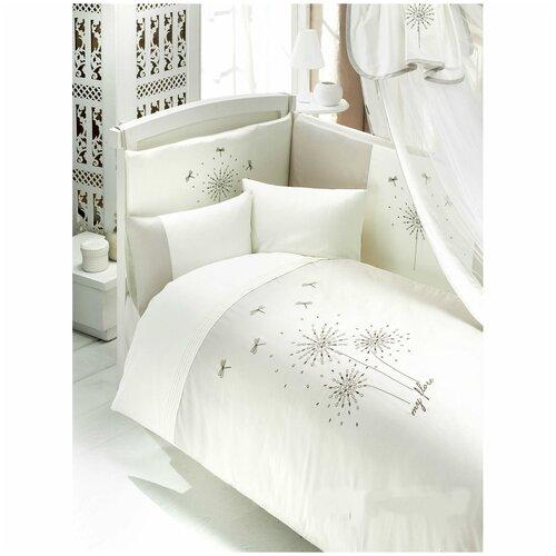 Купить Комплект из 6 предметов серии MY FLORE (стандарт), Bebe Luvicci, Постельное белье и комплекты