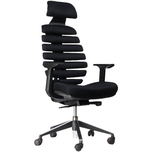 Компьютерное кресло Everprof Ergo для руководителя, обивка: текстиль, цвет: черный