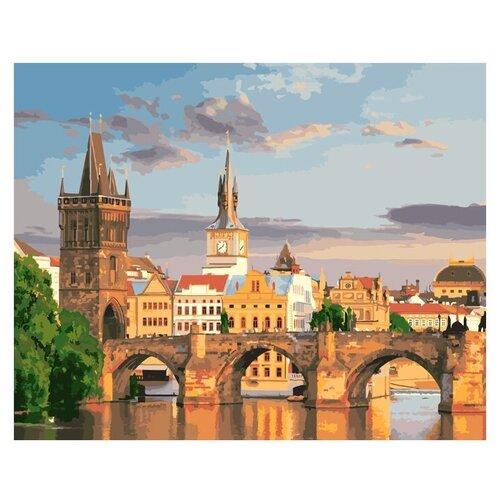Купить ФРЕЯ Набор для раскрашивания по номерам Карлов мост , 40x50 см (PNB/R1 №83), Картины по номерам и контурам