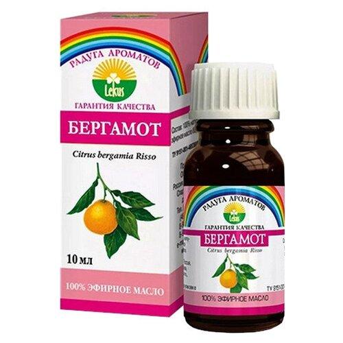 ЛЕКУС эфирное масло Радуга ароматов Бергамот, 10 мл лекус масло эфирное бергамот 10г