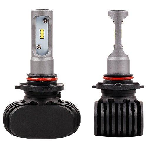 Лампа автомобильная светодиодная Vizant D5 цоколь HB3 9005 с чипом csp 2 шт.