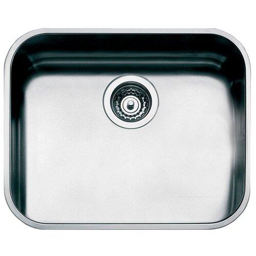 Врезная кухонная мойка 53.9 см Smeg UM50 нержавеющая сталь/матовая врезная кухонная мойка 79 см smeg sp791s 2 нержавеющая сталь матовая