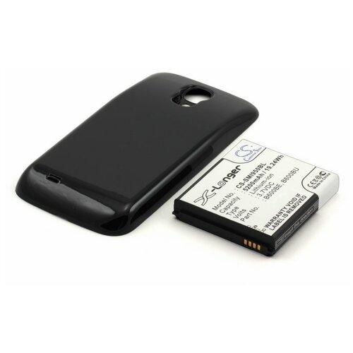 Усиленный аккумулятор для Samsung GT-i9500 Galaxy S4 (черный) аккумулятор rocknparts zip для samsung galaxy s4 gt i9500 337202