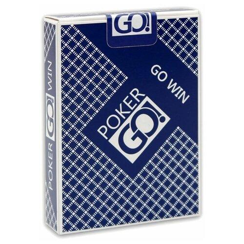 Карты для покера MILAND PokerGo blue