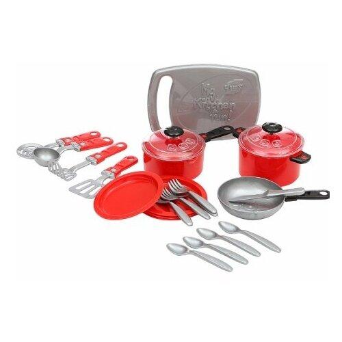 Купить ORION TOYS Набор посуды Ириска-3 , 23 предмета [ОР080] красный, Игрушечная еда и посуда