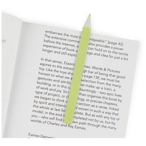 Купить Закладка для книг Balvi Graphite зеленая 27485, Закладки