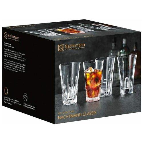 Фото - Набор стаканов высоких Nachtmann Classix (405 мл), 4 шт. 103245 Nachtmann набор высоких стаканов nachtmann 4 предмета 445 мл 101049