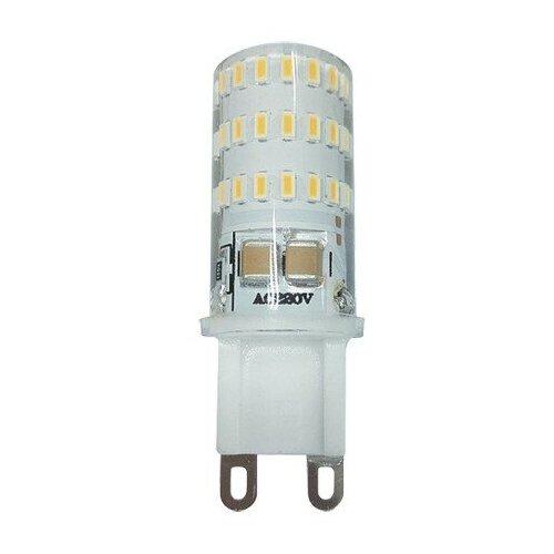 Фото - Светодиодная лампа G9 Лампа PLED-G9 5w 4000K 320Lm 175-240V (пластик d16*50мм) Jazzway лампа светодиодная jazzway pled g4