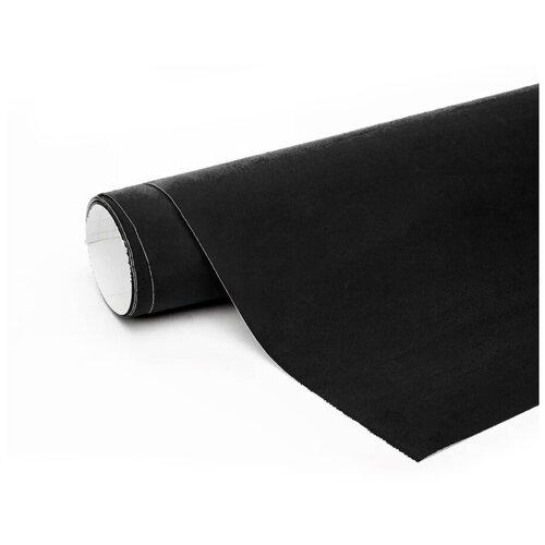 Алькантара пленка автомобильная - 10*1,46 м, цвет: черный
