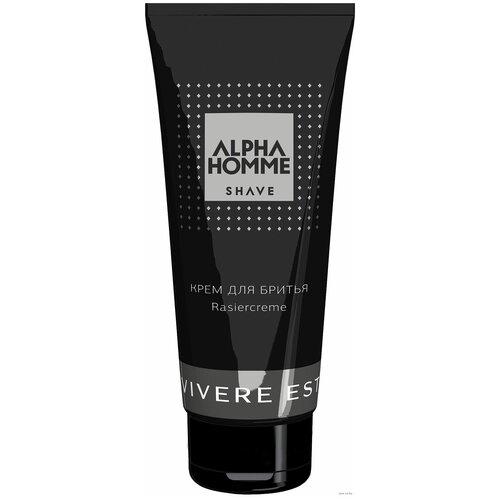 Крем для бритья Alpha Homme Shave Estel Professional, 100 мл