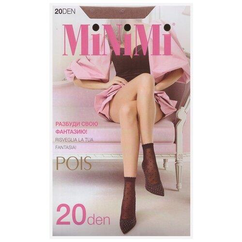 Капроновые носки MiNiMi Pois 20 den, размер 0 (one size), daino