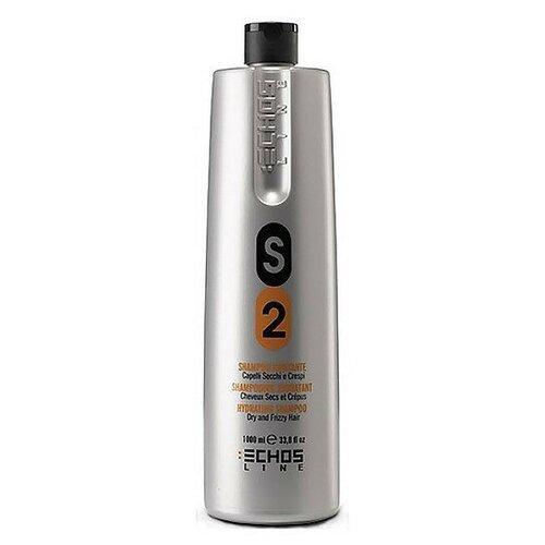 Купить Echosline шампунь S2 Dry & Frizzy Hair Shampo Увлажняющий для сухих и непослушных волос, 1 л