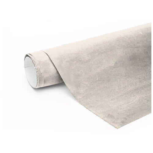 Алькантара самоклеющаяся автомобильная - 60*146 см, цвет: серебро