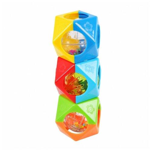 Многогранники развивающие Playgo Play 1520 развивающие игрушки playgo цветовые эффекты