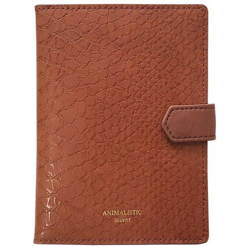 Обложка для паспорта InFolio Animalistic, brown