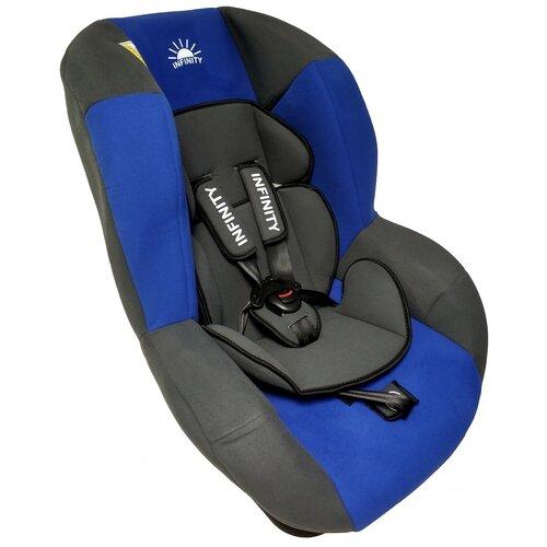 Купить Детское автокресло INFINITY INF (0-18), гр. 0+/1, серый-голубой, Автокресла