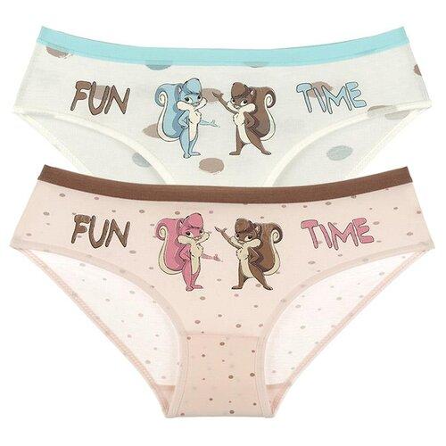 Купить Трусы для девочек 411010EC, Цвет: Микс, Размер: 2/3, 5шт. в упаковке, Donella, Белье и купальники