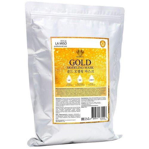 Купить La Miso альгинатная маска с частицами золота, 1000 г