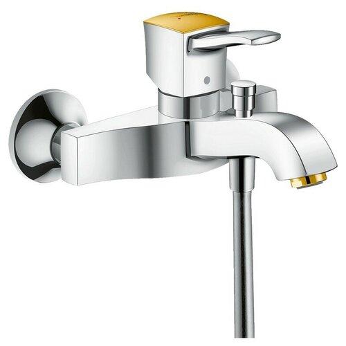 Фото - Смеситель для ванны с подключением душа hansgrohe Metropol Classic 31340090 однорычажный золото/хром смеситель для душа hansgrohe metropol classic 31365090