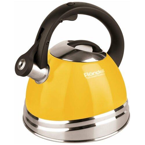 Rondell Чайник Sole RDS-908 3 л, желтый недорого