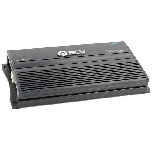 Фото - Автомобильный усилитель ACV LX-4.100 усилитель автомобильный acv zx 1 1800d черный [32070]