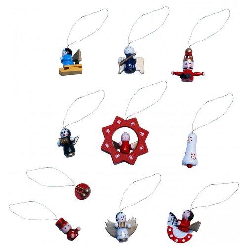 Фото - Набор елочных игрушек Метелица 2994, 10 шт. метелица к уездный город м