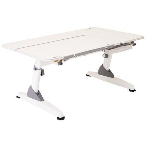 Фото - Парта TCT NANOTEC M6-XS 100x70 см кедр белый/белый школьные парты tct nanotec стол эргономик м6 xs