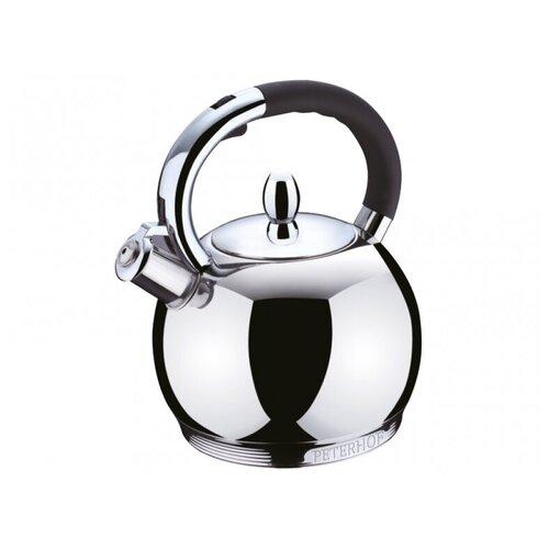 Peterhof Чайник PH-15569 2.7 л, silver/black