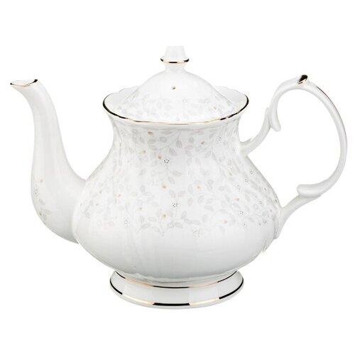 Lefard Заварочный чайник Вивьен 1 л, белый lefard заварочный чайник корейская роза 1 3 л белый розовый золотой