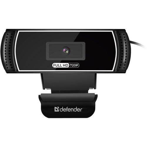 Веб-камера Defender G-lens 2597 HD720p, черный