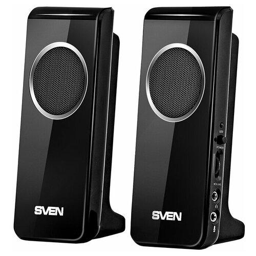 Компьютерная акустика SVEN 314 черный портативная акустика sven ps 68 черный