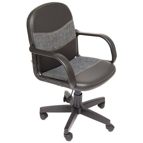 Фото - Компьютерное кресло TetChair Багги офисное, обивка: текстиль/искусственная кожа, цвет: черный/серый компьютерное кресло tetchair багги обивка текстиль искусственная кожа цвет черный серый
