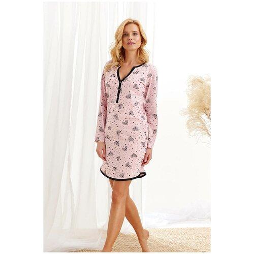 Фото - Сорочка Taro, размер L, розовый сорочка taro размер l серый