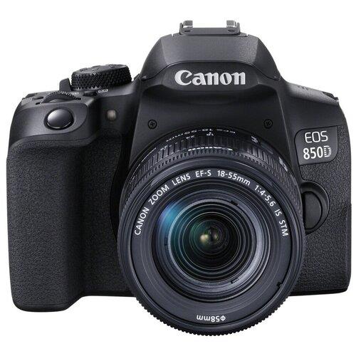 Фото - Фотоаппарат Canon EOS 850D Kit черный EF-S 18-55mm f/4-5.6 IS STM фотоаппарат canon eos m200 kit 15 45 is stm черный [3699c010]