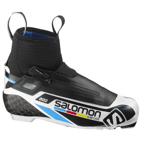 Лыжные ботинки Salomon S/Lab Classic Prolink 390832 NNN (черный/белый) 2016-2017 44,5 RU кроссовки salomon salomon s lab sense 8