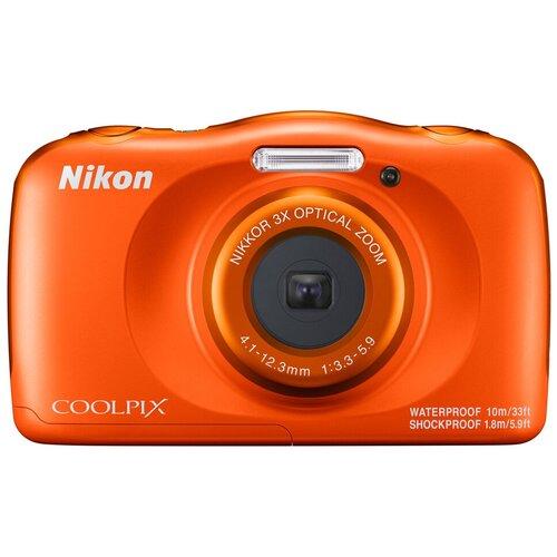 Фотоаппарат Nikon Coolpix W150 оранжевый