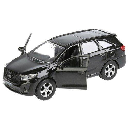 Купить Легковой автомобиль ТЕХНОПАРК Kia Sorento Prime (4467934), 12 см, черный, Машинки и техника