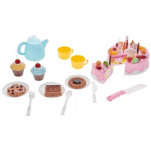 Фото - Набор продуктов с посудой ABtoys Помогаю маме PT-00278 набор продуктов с посудой abtoys помогаю маме pt 00395 разноцветный