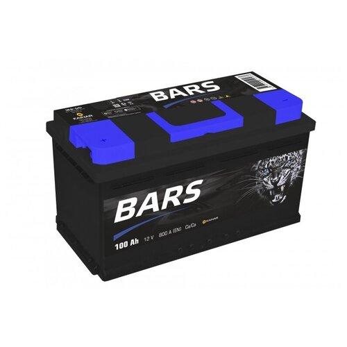 Аккумулятор BARS 6СТ-100 АПЗ п.п.