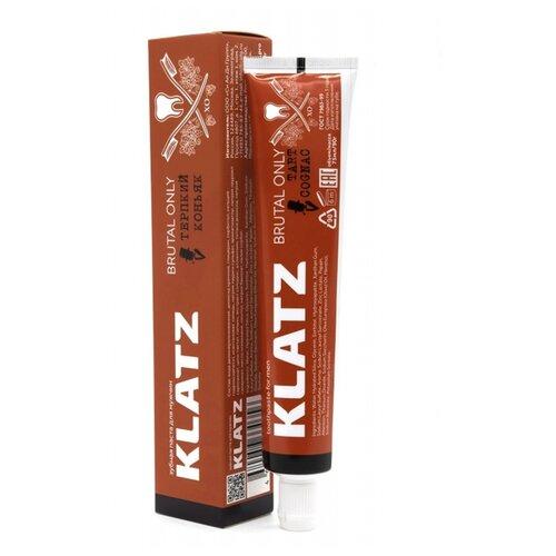 Зубная паста Klatz Brutal Alco терпкий коньяк, 75 мл недорого