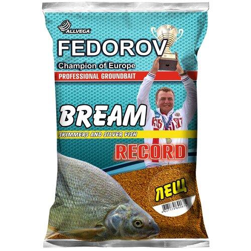 Прикормочная смесь ALLVEGA Fedorov Record Лещ 1000 г