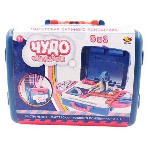 Купить ABtoys Чудо-чемоданчик Мастерская папиного помощника 3в1 PT-01380, Детские наборы инструментов