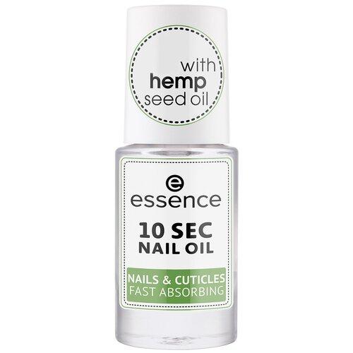 Essence Масло для ногтей и кутикулы 10 sec nail oil nails & cuticles fast absorbing масло для ногтей и кутикулы nail