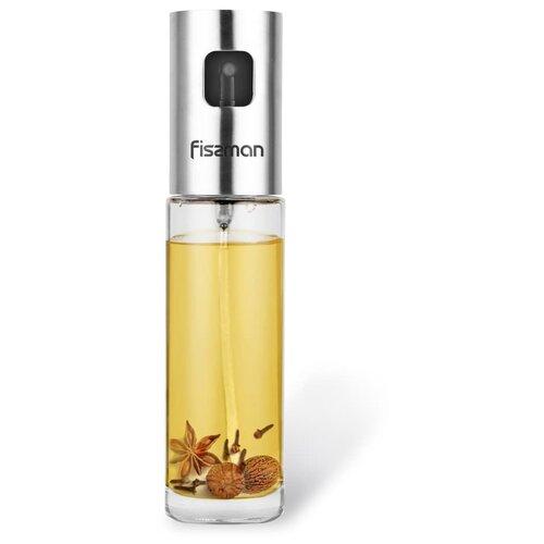 Бутылочка для масла или уксуса 100мл с пульверизатором (стекло) fissman бутылочка для масла или уксуса 150 мл прозрачный серебристый белый