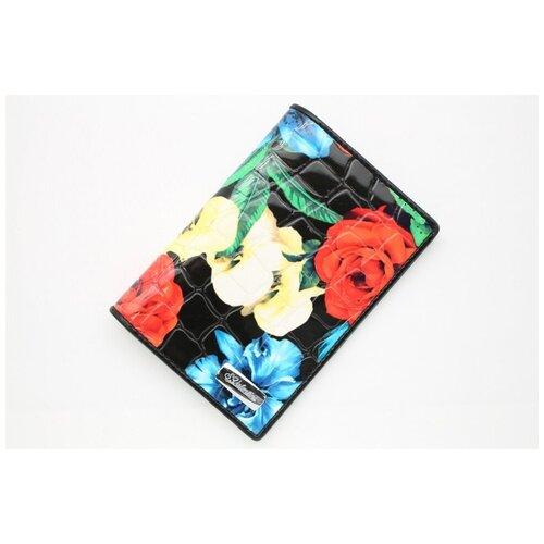 Женская кожаная обложка для паспорта Sergio Valentini СВ 3269-005/1