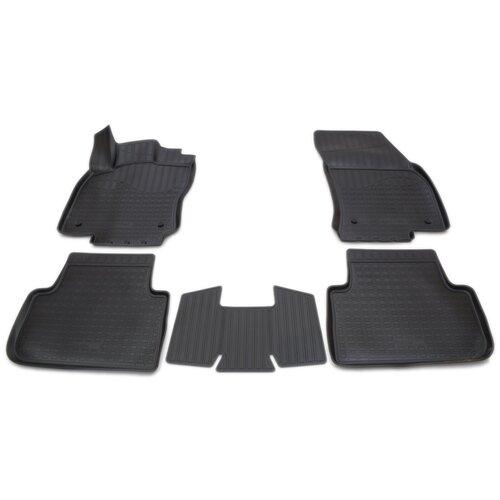 Фото - Комплект ковриков салона NorPlast NPA11-C95-653 для Volkswagen Tiguan 5 шт. чёрный комплект ковриков norplast npa11 c94 700 5 шт бежевый