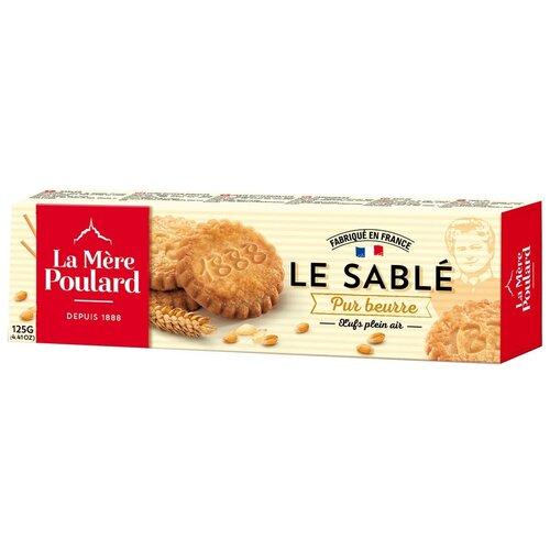 Печенье La Mere Poulard LE SABLE Pur Beurre, 125 г