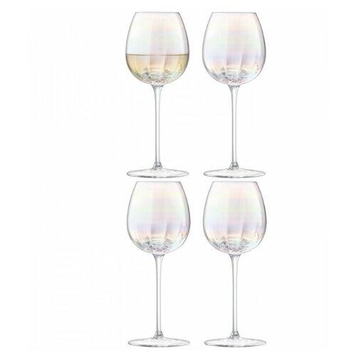Набор из 4 бокалов для белого вина Pearl 325 мл бокал для белого вина pearl 4 шт lsa g1332 12 401