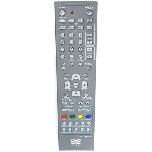 Фото - Пульт HUAYU LC02-AR022A LCDTV для tv+dvd ROLSEN пульт huayu rc a06 rl 32b05f rb 32k101u для tv dvd rolsen